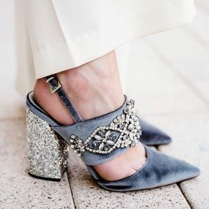 ASOS perfect combo embellished heels